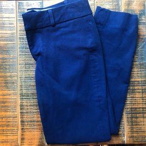 Banana Republic Blue Petite Sloan Pants